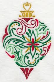 large ornament embroidery design 8 86 h x 5 97 w