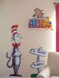 Wallpaper Decal Theme Wall Decal Best From Cat In The Hat Wall Decal Ideas Dr Seuss