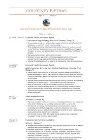 Insurance Sales Resume Examples by Mesmerizing Insurance Agent Resume 88 In Resume Sample With