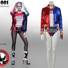 Harley Quinn Halloween Costume Aliexpress Buy Batman Movie Harley Quinn Cosplay Costume