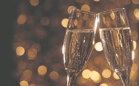 new years chagne glasses blue window bistro offers new year s pre party dinner los