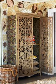 Tudor Style Wallpaper Bohemian Decor Colleen Bashaw Interior Design