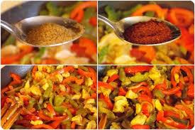 cuisine mexicaine recette recette de fajitas au poulet et poivrons le cuisine de samar