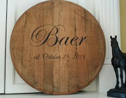personalized photo guest book bourbon barrel personalized wedding guest book lazy susan