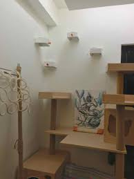wall mounted cat stairs enudden cat steps on wall ikea hackers ikea hackers