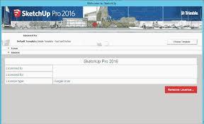 sketchup 2016 plus serial key