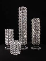 Crystal Vases For Centerpieces Crystal Vases Candelabra Drama