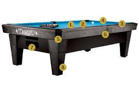 masse pool table price billiards the pro am ball return table