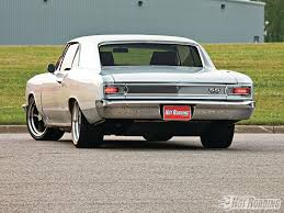 66 chevelle with a malibu rear awesome pro touring pinterest