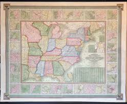 Art Institute Of Chicago Map by Antique Wall Maps