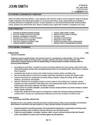 Sample Resumes For Accounting by Coordinator Resume Sample U0026 Template