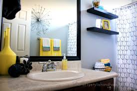 Red And Black Bathroom Accessories by Accessories Extraordinary Black And White Bathroom Decor Ideas