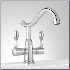 single hole kitchen faucet with pull out spray kitchen set