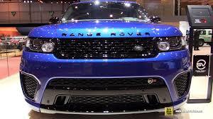 2015 land rover interior 2015 range rover sport svr exterior and interior walkaround
