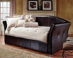 daybed with trundle day bed frame twin xl gray faux leather