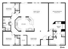 home floor plan country style house plans 1700 square foot home 1 story 3