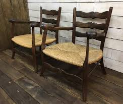 Antique Captains Chair Vintage Chairs And Antique Benches