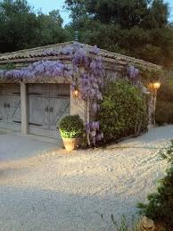 penelope bianchi u0027s wisteria covered garage dream gardens