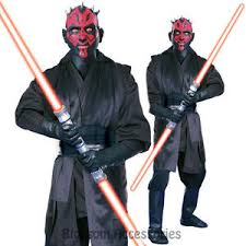 Sith Halloween Costume Cl530 Mens Deluxe Darth Maul Star Wars Sith Lord Party
