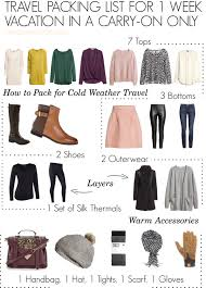 how to pack for cold weather like a