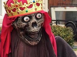 zombie jesus halloween costume photos township orders zombie nativity scene removed