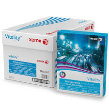 xerox vitality multipurpose printer paper copy paper 8 1 2