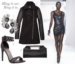 express new years dresses get the look new years no amount of bling can be considered