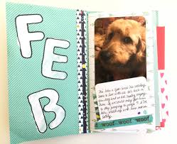 dog scrapbook album monthly mini albums make today creative
