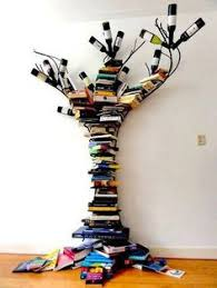 Tree Of Knowledge Bookshelf This Reminds Me Of My Kindergarten Teacher Mrs Cousins She Had