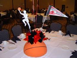Basketball Centerpieces Note To Self Even If Its A Repeat Never Ever Bother A Woman While