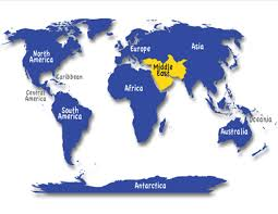 Middle East Map Okay This Is A Hard One Name The 7 Continents And Then Figure For