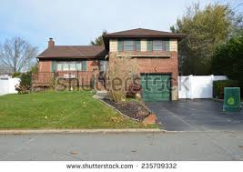 front to back split house front split home stock images royalty free images vectors