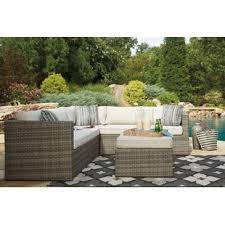 outdoor patio sectional sofas u0026 loveseats wayfair