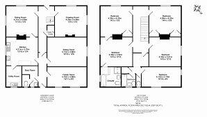 floor plans for a 5 bedroom house 5 bedroom floor plans uk design homes