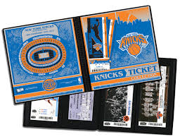 sports photo albums ticket albums