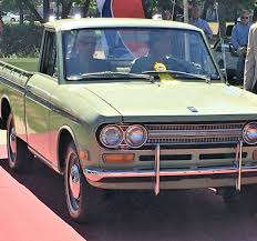 classic datsun event roundup datsun 1600 pickup wins class at texas concours