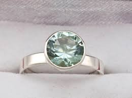 green amethyst engagement ring green amethyst unique engagement ring february birthstone