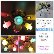 moodies colorful light bulb covers