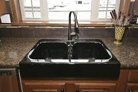 Bronze Faucet With Stainless Steel Sink Black Kitchen Sink With Bronze Faucet Insurserviceonline Com