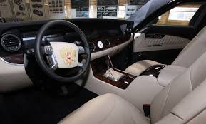 best limos in the world the president u0027s new car putin to drive russian made limo