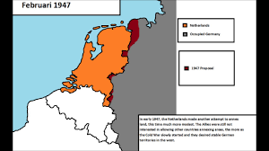 Cold War Germany Map by Dutch Annexation Plans After Wwii Youtube