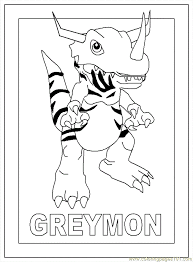 digimon coloring pages 56 printable coloring kids adults