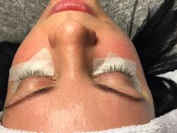 före och efterbilder ögonfransförlängning beauty extended hairx