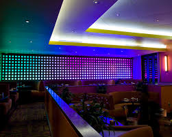 led dining room lighting restaurant led lighting eclectic dining room houston by inside led