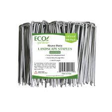 landscape fabric alternatives landscape staples 100 pack ecogardener