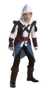 ezio costume spirit halloween amazon com assassin u0027s creed edward kenway classic teen costume