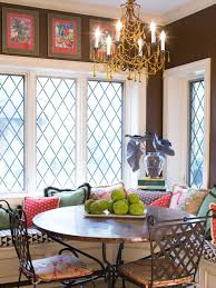 Curtain Ideas For Dining Room Kitchen Window Treatments Ideas Hgtv Pictures U0026 Tips Hgtv