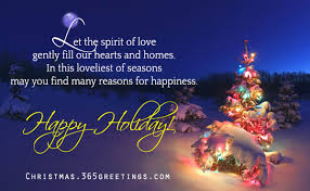 message for family and friends merry happy