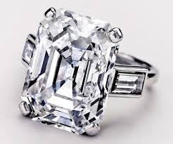 grace engagement ring 10 47ct cartier emerald cut engagement ring belonged to