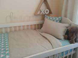 linen cot bedding beautiful linen cot quilt and pillow case set